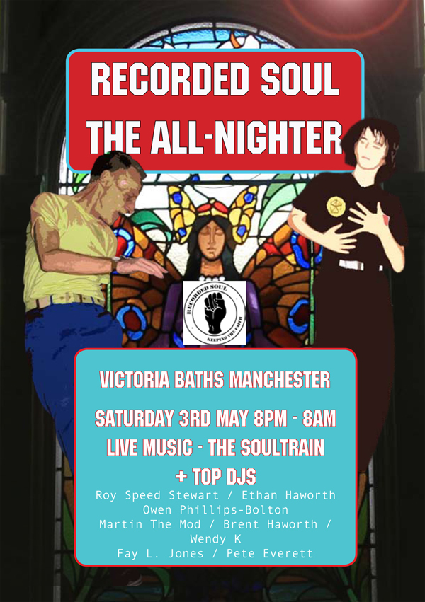 Victoria Baths Hathersage Road Un-Rest dance movement art exhibition all nighter northern soul international artists dance off Wayne Hemingway